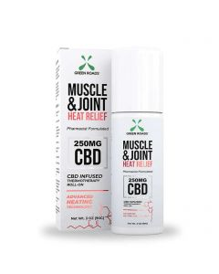 Green Roads Muscle & Joint CBD Roll-On - Heat Relief - 250mg Thumbnail