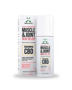 Green Roads Muscle & Joint CBD Roll-On - Heat Relief - 500mg Thumbnail
