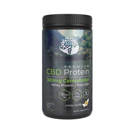 Creating Better Days CBD Whey Protein Powder - Creamy Vanilla Small Product Picture