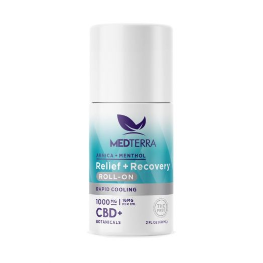 Medterra CBD Relief + Recovery Roll On - 1000mg - 2 fl oz
