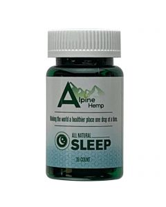 Alpine Hemp CBD Capsules - Sleep Small Product Picture