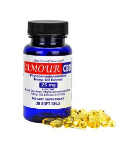 AmourCBD Full Spectrum CBD Capsules Small Product Picture