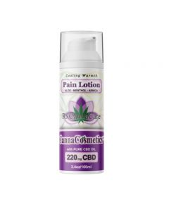 Canna Cosmetics CBD Pain Relief Cream With Menthol, Arnica & Frankincense - 220mg