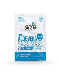 CBDfx Broad Spectrum CBD Mask - Aloe Vera Small Product Picture