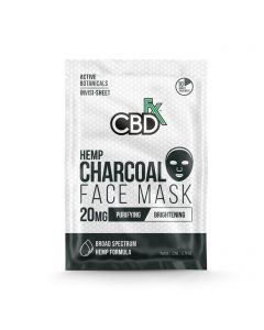 CBDfx Broad Spectrum CBD Mask - Charcoal Small Product Picture