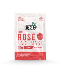 CBDfx Broad Spectrum CBD Mask - Rose Small Product Picture