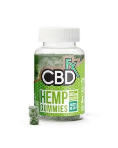 CBDfx CBD Gummies - Tumeric & Apieulin - 1 Bottle - 300mg Small Product Picture