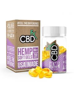 CBDfx Full Spectrum CBD Capsules Small Product Picture