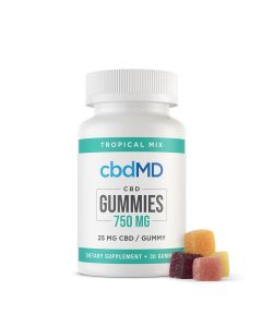 cbdMD CBD Gummies - 750mg