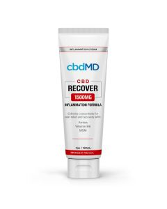 cbdMD Recover Inflammation Cream Squeeze - 1500mg