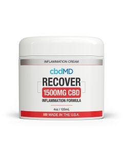 cbdMD Recover Inflammation Cream Tub - 1500mg