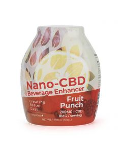 Creating Better Days Nano-CBD Beverage Enhancer - Fruit Punch Small Product Picture