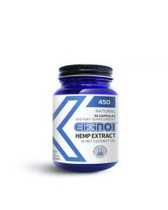 Elixinol Full Spectrum CBD Capsules - 450mg