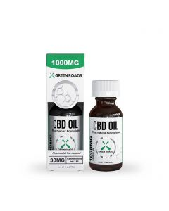 Green Roads Broad Spectrum CBD Oil Tincture - 1000mg
