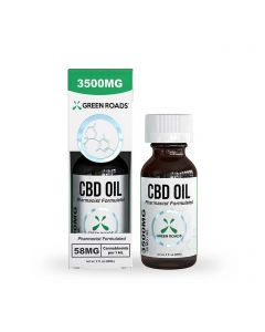 Green Roads Broad Spectrum CBD Oil Tincture - 3500mg