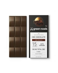 Green Roads CBD Dark Chocolate Bar - 180mg