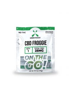 Green Roads CBD Froggie - Travel Size - 25mg