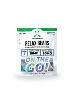 Green Roads CBD Relax Bears - Travel Size - 50mg