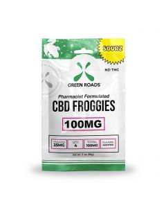 Green Roads CBD Sour Froggies - 100mg