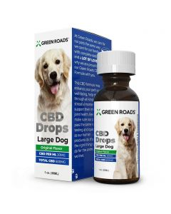 Green Roads Pet CBD Drops for Large Dog - Original Flavor