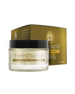 Hemplucid Full Spectrum CBD Body Cream Small Product Picture