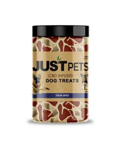 JustCBD CBD Dog Treats - Steak Bites Small Product Picture