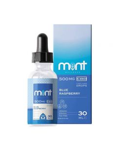 Mint Wellness CBD Tincture - Blue Raspberry Small Product Picture