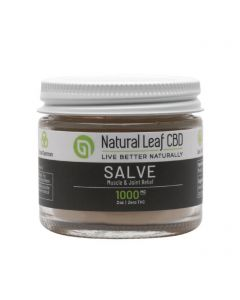 Natural Leaf CBD Broad Spectrum CBD Salve - Unscented Small Product Picture