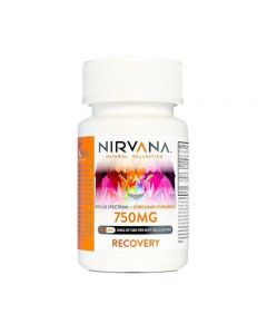 Nirvana Broad Spectrum CBD Soft Gel Capsules - Natural - 750mg Small Product Picture