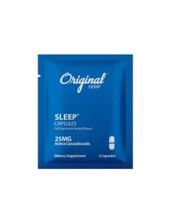 Original Hemp Full Spectrum CBD Capsules - Travel Size - Sleep Small Product Picture