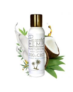 Pinnacle Hemp CBD Body Lotion - Coconut Beach Dream Small Product Picture