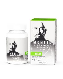 Select CBD CBD Capsules - Montel Relax - 1500mg Small Product Picture