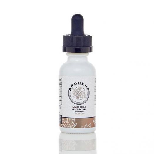AndHemp Broad Spectrum CBD Tincture - Natural - 500mg Small Product Picture