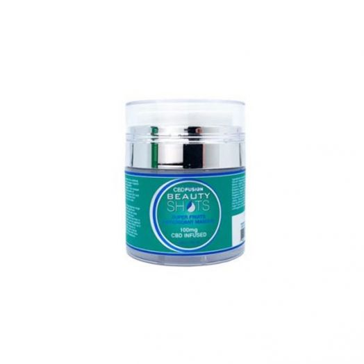 CBD Fusion BeautyShots Super Fruits Mask - 100mg
