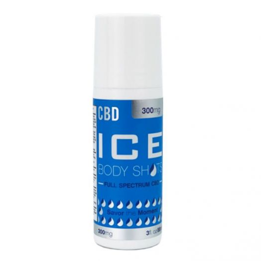 CBD Fusion Ice Body Shots Muscle & Joint CBD Cream