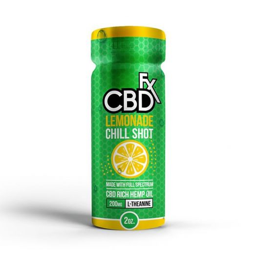 CBDfx Full Spectrum CBD L-Theanine Chill Shot - Lemonade Small Product Picture