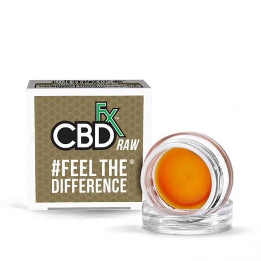 CBDfx Full Spectrum CBD Wax Concentrate - 300mg Small Product Picture