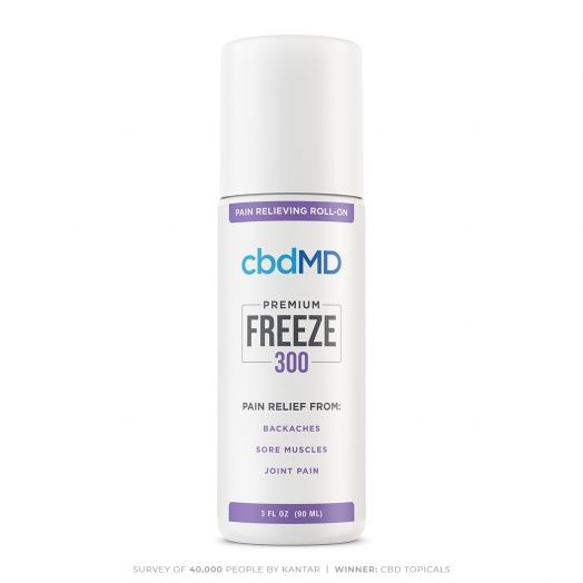 cbdMD Freeze Pain Relief Roller - 300mg
