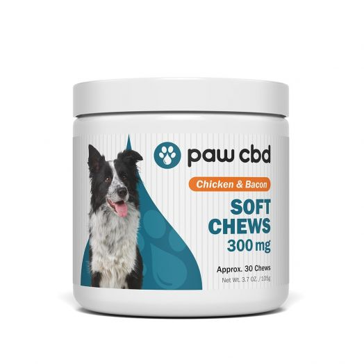 cbdMD - Paw CBD - CBD Soft Chews for Dogs - Chicken & Bacon