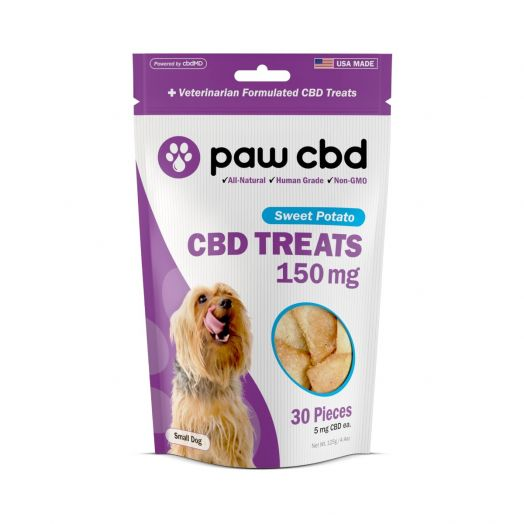 cbdMD - Paw CBD - CBD Treats for Dogs - Sweet Potato