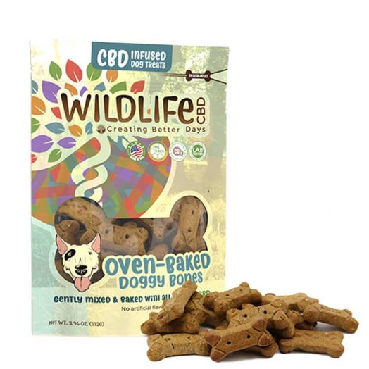 Creating Better Days CBD Dog Treats - Oven-Baked Doggy Bones Small Product Picture