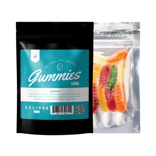 Eclipse CBD Isolate CBD Gummies - Assorted Flavors Small Product Picture