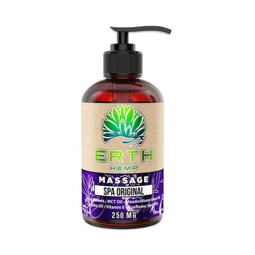 ERTH Hemp CBD Massage Oil - Spa Original Small Product Picture