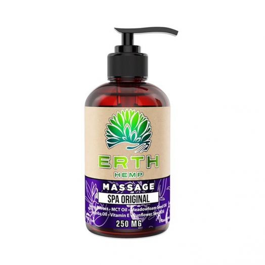 ERTH Hemp Spa CBD Massage Oil - Original - 250mg Small Product Picture