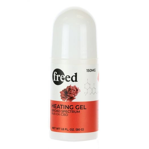 Freed Broad Spectrum CBD Roll-On Stick - Heating Gel - 150mg