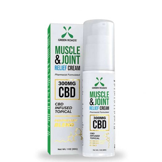 Green Roads Muscle & Joint CBD Cream - Relief - 300mg Thumbnail