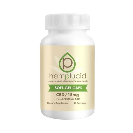 Hemplucid Full Spectrum CBD Capsules Small Product Picture