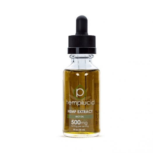 Hemplucid Full Spectrum CBD Tincture - MCT Oil Small Product Picture
