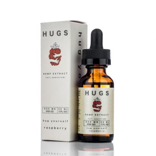 HUGS CBD Full Spectrum Tincture - Raspberry