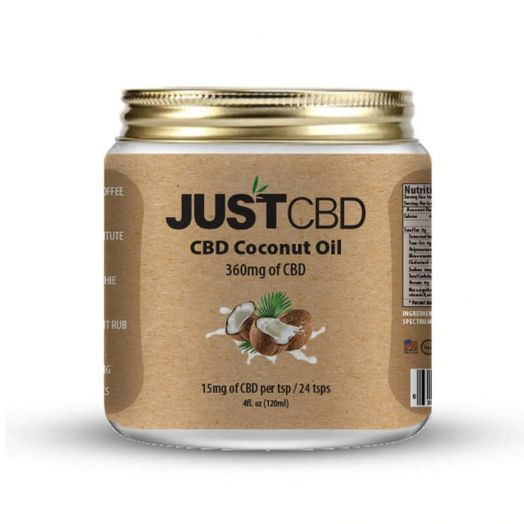 JustCBD CBD Coconut Oil Small Product Picture